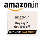 Amazon - Buy 2 Get 10% OFF