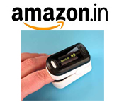 Amazon - Pulse Oximeters Starting at Rs. 1,190